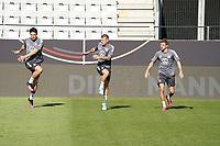 Mats Hummels (Deutschland Germany), Toni Kroos (Deutschland Germany), Thomas Mueller (Deutschland Germany) - Innsbruck 01.06.2021: Abschlusstraining Deutsche Nationalmannschaft