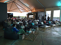 """BEVERLY HILLS, CA - MAY 26: Guests attend a special event for the Hulu original film """"Plan B"""" at L'Ermitage Beverly Hills on May 26, 2021 in Beverly Hills, California. (Photo by Frank Micelotta/HULU/PictureGroup)"""