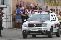 SUMARÉ, SP, 13.03.2019: CRIME-SP - Um homem e uma mulher foram mortos no começo da tarde desta quarta-feira (13), em Sumaré, interior de São Paulo. O caso ocorreu dentro de um posto de gasolina, no bairro Jardim Bom Retiro. Uma pessoa foi presa e outra segue foragida. A Polícia Militar confirmou que o assassino era ex-marido da mulher. (Foto: Luciano Claudino/Código19)