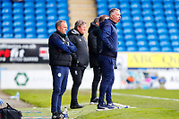 1st May 2021; Weston Homes Stadium, Peterborough, Cambridgeshire, England; English Football League One Football, Peterborough United versus Lincoln City; Peterborough United Manager Darren Ferguson shouts instructions to his team
