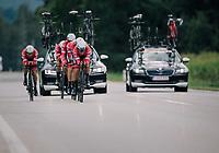 Team Trek-Segafredo<br /> <br /> UCI MEN'S TEAM TIME TRIAL<br /> Ötztal to Innsbruck: 62.8 km<br /> <br /> UCI 2018 Road World Championships<br /> Innsbruck - Tirol / Austria