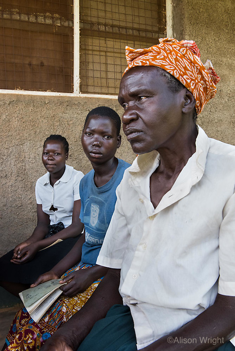 N. Uganda, Gulu District, Africa. Mentally distressed patients are evaluated through an initial clinical psychiatric process. This assessment determines if they are affected by PTSD or mentally suffering from war related issues. Some patients, especially children suffer from other mental health issues, such as psychosis, epilepsy or other illnesses that may be treated through the local mental health hospital.