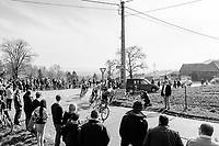 race leaders on their way to the Kortekeer<br /> <br /> 60th E3 Harelbeke (1.UWT)<br /> 1day race: Harelbeke › Harelbeke - BEL (206km)