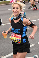Helen Skelton<br /> at the start of the London Marathon 2019, Greenwich, London<br /> <br /> ©Ash Knotek  D3496  28/04/2019