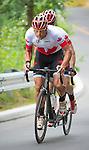 Daniel Chalifour and Alexandre Cloutier, Toronto 2015 - Para Cycling // Paracyclisme.<br /> Daniel Chalifour and Alexandre Cloutier win silver medal in men's road race Mixed B competition // Daniel Chalifour et Alexandre Cloutier remportent la médaille d'argent en épreuve masculine sur route mixte B. 08/08/2015.