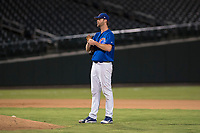 AZL Cubs 1 relief pitcher Ryan Webb (38) during an Arizona League game against the AZL Reds at Sloan Park on July 13, 2018 in Mesa, Arizona. The AZL Cubs 1 defeated the AZL Reds 4-1. (Zachary Lucy/Four Seam Images)