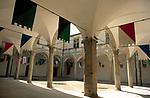 ITA, Italien, Marken, Camerino: Innenhof der Universitaet | ITA, Italy, Marche, Camerino: University, courtyard