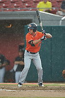 Edouard Julien (10) of the Auburn Tigers at bat against the Army Black Knights at Doak Field at Dail Park on June 2, 2018 in Raleigh, North Carolina. The Tigers defeated the Black Knights 12-1. (Brian Westerholt/Four Seam Images)