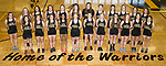 April 27, 2017- Tuscola, IL- The 2017 Warrior Girls Track & Field team. Back row from left are Rachel Mannen, Ashton Smith, Briannia Thull, Ellen Brown, Lexie Russo, Maicyn Woodard, Cassie Russo, Katrine Joergensen, Kaiya Clodfelder, Cassie Westjohn, Bethany Snyder, and Katie Wells. Front row from left are Lana Miller, Emily Kemp, McKinlee Miller, Krupa Patel, Caleigh Parsley, Ashley Bartley, Caylen Moyer, Josie Riley, Kara O'Hearn, Calleigh Miller, and Hannah Lemay. (Not Pictured: Katie Dean) [Photo: Douglas Cottle]