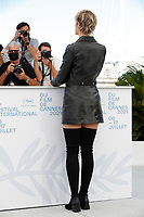 """CANNES, FRANCE - JULY 14: Agathe Rousselle at the """"Titane"""" photocall during the 74th annual Cannes Film Festival on July 14, 2021 in Cannes, France. <br /> CAP/GOL<br /> ©GOL/Capital Pictures"""