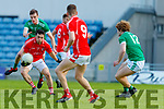 Paul Murphy East Kerry in action against Philip O'Connor St Kierans during the Kerry County Senior Football Championship Round quarter final match between St Kierans and East Kerry at Austin Stack Park in Tralee on Saturday.