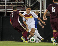 The Winthrop University Eagles played the College of Charleston Cougars at Eagles Field in Rock Hill, SC.  College of Charleston broke the 1-1 tie with a goal in the 88th minute to win 2-1.  Pietro Bottari (21), Daan Brinkman (4)