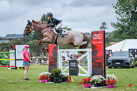 NZL-Briar Burnett-Grant rides Fiber Fresh Veroana during the Giltrap Audi Poli Payments World Cup Final, Sponsored by Giltrap Audi. 2021 Giltrap Audi World Cup Festival at Woodhill Sands, Helensville. Sunday 17 January 2021. Copyright Photo: Libby Law Photography