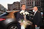 LUIGI DI MAIO<br /> COMPLEANNO VIRGINIA RAGGI - HOTEL BERNINI ROMA LUGLIO 2021<br /> ARRIVO DEGLI INVITATI
