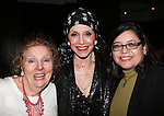 Crystal Field, Liliane Montevecchi and Rosie Mendez attending 'Love n' Courage' - Theater for the New City Benefit at The National Arts Club on February 24, 2014 in New York City.