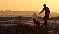 Praia das Corvinas no entorno da cidade e região de manguezal.<br /> Salinópolis, Pará, Brasil.<br /> Foto Paulo Santos<br /> 28/07/2014
