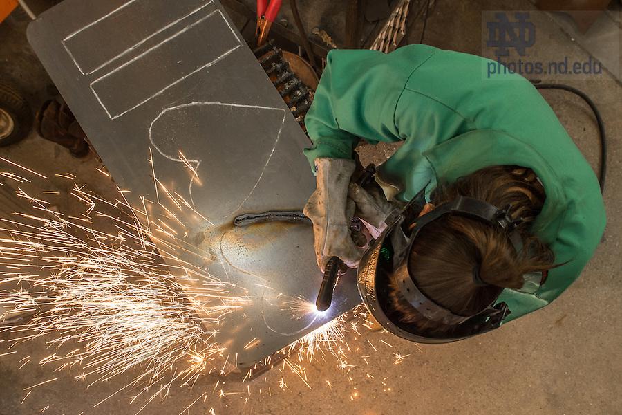 Nov. 10, 2014; Metal Studio, Riley Hall (Photo by Matt Cashore/University of Notre Dame)