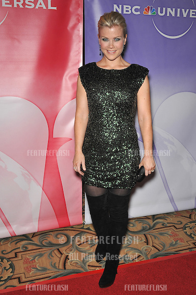 """""""The Biggest Loser"""" star Alison Sweeney at NBC Universal's Winter 2010 Press Tour cocktail party at the Langham Huntington Hotel, Pasadena..January 10, 2010  Pasadena, CA.Picture: Paul Smith / Featureflash"""