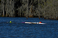 Frame 14: Serena Durr 96-F, Erin Pittman 6-H crash. (Outboard Hydroplanes)