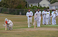 Action from day three of the Pearce Cup Wellington men's cricket final between Johnsonville and Taita at Alex Moore Park in Johnsonville, New Zealand on Sunday, 28 March 2021. Photo: Dave Lintott / lintottphoto.co.nz