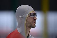 SPEEDSKATING: 23-11-2019 Tomaszów Mazowiecki (POL), ISU World Cup Arena Lodowa, 1500m Men Division B, Konrád Nagy (HUN), ©photo Martin de Jong