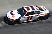 BRISTOL, TENNESSEE - MAY 31: Denny Hamlin, driver of the #11 FedEx Express Toyota, drives during the NASCAR Cup Series Food City presents the Supermarket Heroes 500 at Bristol Motor Speedway on May 31, 2020 in Bristol, Tennessee. (Photo by Jared C. Tilton/Getty Images)