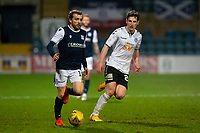 16th March 2021; Dens Park, Dundee, Scotland; Scottish Championship Football, Dundee FC versus Ayr United; Paul McMullan of Dundee goes past Mark McKenzie of Ayr United