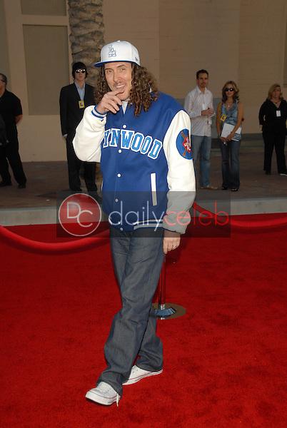 """Weird Al"" Yankovic<br />at the 34th Annual American Music Awards. Shrine Auditorium, Los Angeles, CA. 11-21-06<br />Dave Edwards/DailyCeleb.com 818-249-4998"