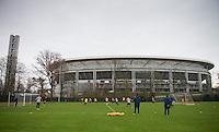 USMNT Training in Frankfurt, Germany, Monday, March 3, 2014