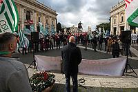 01.02.2021 - Italian Trade Unions Protest at Campidoglio #LavoriAMOxRoma