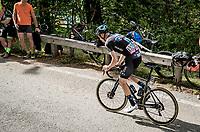 Nikias Arndt (DEU/DSM) up the Alpe di Mera finish climb<br /> <br /> 104th Giro d'Italia 2021 (2.UWT)<br /> Stage 19 from Abbiategrasso to Alpe di Mera (Valsesia)(176km)<br /> <br /> ©kramon