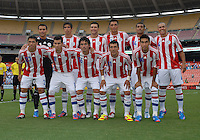 Paraguay starting eleven.  Guatemala tied Paraguay 3-3 in a international friendly match at RFK Stadium, Wednesday August 15, 2012.