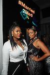 Kisha Rogers and Dr. Ashandra Batiste at the Married to Medicine Houston premier party at VrSi Thursday Nov. 10, 2016.(Dave Rossman photo)