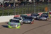 #16: Brett Moffitt, Hattori Racing Enterprises, Toyota Tundra Destiny Homes and #54: David Gilliland, DGR-Crosley, Toyota Tundra Crosley Brands / DGR CROSLEY