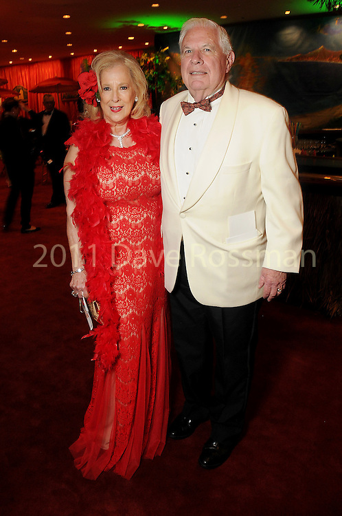 """Mary Ann and David McKeithan at the 2016 Houston Symphony Gala """"Carnaval"""" at Jones Hall Saturday May 14,2016(Dave Rossman Photo)"""