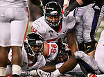 Oregon State Beavers defensive tackle Stephen Paea #54 and Oregon State Beavers defensive end Gabe Miller #99 in action during the game between the Oregon State Beavers and the TCU Horned Frogs at the Cowboy Stadium in Arlington,Texas. TCU defeated Oregon State 30-21.