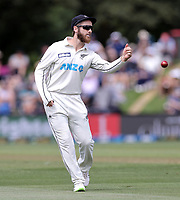 Kane Williamson of New Zealand during day one of the second International Test Cricket match between the New Zealand Black Caps and Pakistan at Hagley Oval in Christchurch, New Zealand on Sunday, 3 January 2021. Photo: Martin Hunter / lintottphoto.co.nz