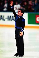 Elvis Stojko Canada Canadian Championships 1995. Photo copyright Scott Grant