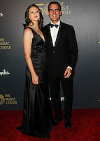 LOS ANGELES, CA, USA - DECEMBER 06: Amy Wakeland, Eric Garcetti arrive at The Music Center's 50th Anniversary Spectacular held at The Music Center - Dorothy Chandler Pavilion on December 6, 2014 in Los Angeles, California, United States. (Photo by Celebrity Monitor)