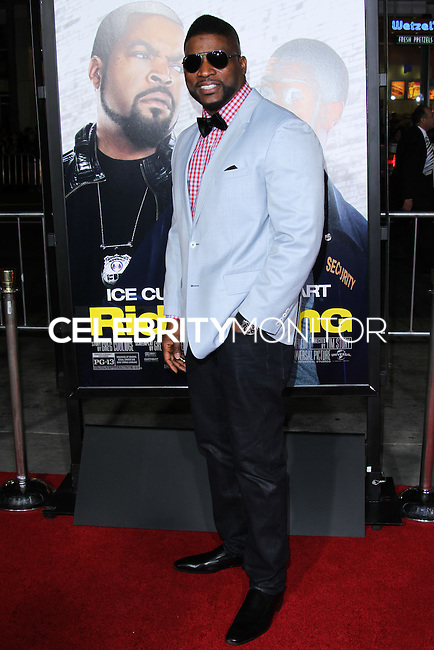 """HOLLYWOOD, CA - JANUARY 13: Davud Banner at the Los Angeles Premiere Of Universal Pictures' """"Ride Along"""" held at the TCL Chinese Theatre on January 13, 2014 in Hollywood, California. (Photo by David Acosta/Celebrity Monitor)"""