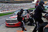NASCAR Camping World Truck Series <br /> Active Pest Control 200<br /> Atlanta Motor Speedway, Hampton, GA USA<br /> Saturday 24 February 2018<br /> Spencer Davis, Kyle Busch Motorsports, Rheem Toyota Tundra<br /> World Copyright: Nigel Kinrade<br /> NKP / LAT Images