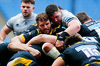 27th March 2021; Ricoh Arena, Coventry, West Midlands, England; English Premiership Rugby, Wasps versus Sale Sharks; Will Rowlands of Wasps and Ewan Ashman of Sale Sharks at a maul