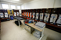 Photo: Richard Lane/Richard Lane Photography. Stade Rochelais v Wasps.  European Rugby Champions Cup. 10/12/2017. Wasps changing room.