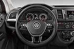 Car pictures of steering wheel view of a 2016 Volkswagen Caravelle Comfortline 5 Door Minivan Steering Wheel