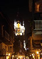 CARTAGENA- COLOMBIA-09-01-2013.  Cúpula de la Catedral San Pedro Claver, en la Ciudad de Cartagena, Departamento de Bolivar, Colombia,. (Foto:VizzorImage). Dome of the Cathedral of St. Pedro Claver, in the city of Cartagena, Bolivar Department, Colombia. (Photo: VizzorImage/Luis Ramirez)..