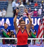 2021 US Open Tennis Womens Singles Final Raducanu v Fernandez Sep 11th