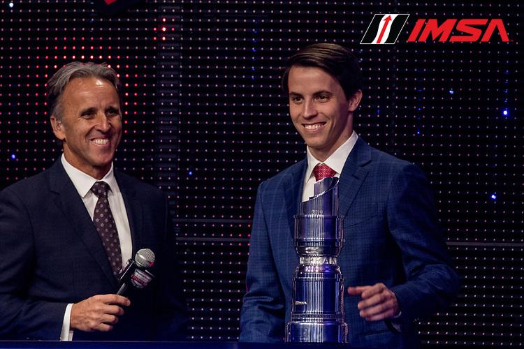 #52 PR1 Mathiasen Motorsports ORECA LMP2, LMP2: Matthew McMurry, IMSA WeatherTech Awards Banquet, Chateau Elan, Braselton, GA, October 2019.