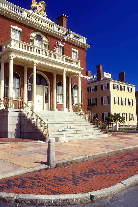 Salem, Massachusetts, The West India Goods Store near the Salem NationalHistoric Site, Custom House.