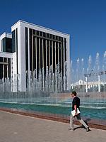 Platz der Unabhängigkeit (Mustaqillik Maydoni), Taschkent, Usbekistan, Asien