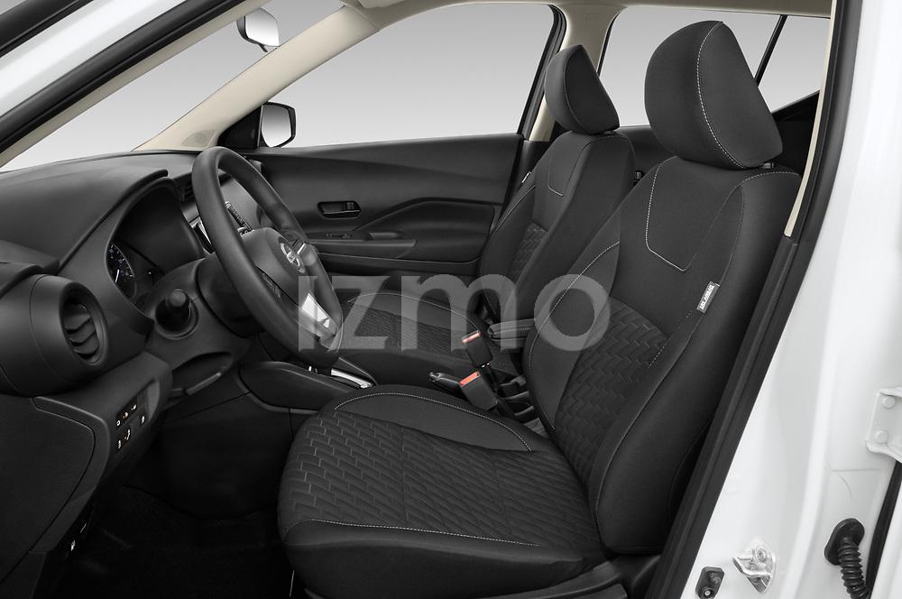 Front seat view of 2021 Nissan Kicks - 5 Door SUV Front Seat  car photos